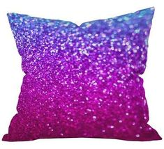 Lisa Argyropoulos New Galaxy Throw Pillow from Deny Designs. Saved to DENY Designs Products. Purple Pillows, Diy Pillows, Outdoor Throw Pillows, Decorative Throw Pillows, Cushions, Sparkly Pillows, Galaxy Bedroom, Purple Rooms, Pillow Room