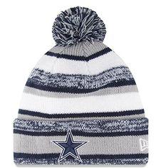 57f3903f438 New Era NFL ON FIELD Winter Beanie - Dallas Cowboys New Era http