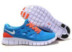 separation shoes b3471 99a01 Buy Latest Listing Nike Free Run 2 Size 12 Chlorine Blue White Black Total  Orange Fashion Shoes Store