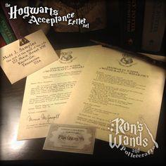 The Hogwarts Acceptance Letter