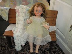 Around the 50 s Plaything Doll  Jointed by Daysgonebytreasures