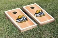 Cornhole Set - Averett University Cougars Hardcourt Version