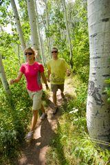 Hiking at Canyons