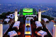 Lebua hotel at State Tower in Bangkok, Thailand @Lebua hotel