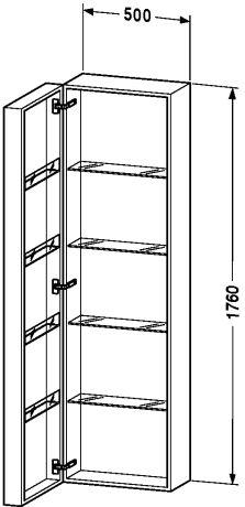 Fogo                          Tall cabinet