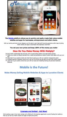 Start a MOBILE APP Business!