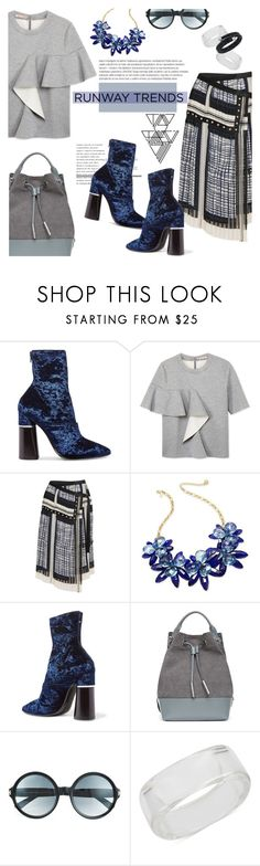"""""""Runway Trendy"""" by lisalockhart ❤ liked on Polyvore featuring 3.1 Phillip Lim, Marni, Sacai, Kate Spade, Opening Ceremony, Tom Ford, INC International Concepts, Swarovski, StreetStyle and NYFW"""