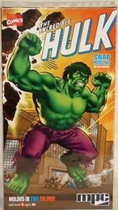 MARVEL SUPER HEROES : THE INCREDIBLE HULK SNAP MODEL KIT MADE BY MPC IN 2012