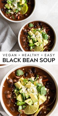 Vegan Soup, Healthy Soup, Healthy Eating, Healthy Recipes, Healthy Foods, Vegetarian, Dairy Free, Gluten Free, Soup Beans