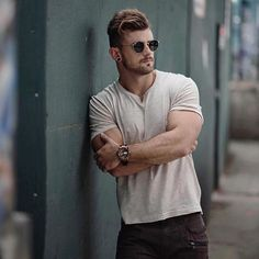 Nathan McCallum ( is cool as ice Brand information: (watch), (tee). Urban Fashion, Mens Fashion, Watch Model, Muscle Men, Sexy Men, Hot Men, Hot Guys, Instagram, Street Style
