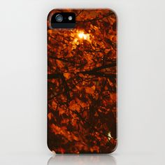 Autumn Leaves iPhone Case by Dustin Hall - $35.00