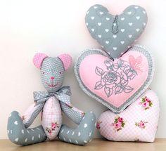 dekoracje do pokoju dziecięcego...miś,teddy bear,serca,roomkids,rękodzieło,dekoracje dziecięce,pokój dziecięcy,dla dziecka,for kids,handmade,kinderzimmer