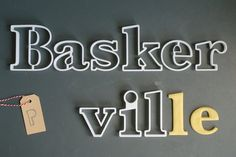 Baskerville font cookie cutter set 3D printed by Printmeneer, €35.00