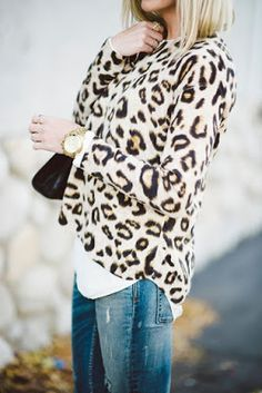 the pink clutch ...: Leopard = neutral ... #ofcourse