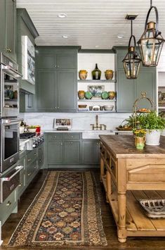 Kitchen Nook, Apartment Kitchen, Kitchen And Bath, Kitchen Decor, Kitchen Cabinets, Kitchen Ideas, Beautiful Kitchens, Beautiful Homes, Interior Styling