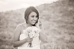 Black & White  Mountain Bridal Session in Phoenix, Arizona by Franciose Photo