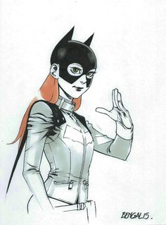 Batgirl by Bengal