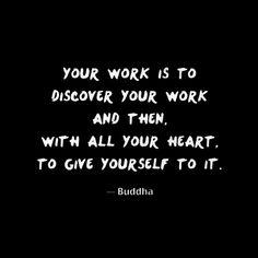 your dharma.