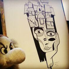 #stefanoarici #scarabiss #tattoo #tatt #tatts #tatuaggio #tatouage #tatuagem #taty #tatuaje #draw #drawing #sketch #sketching #blackwork #flash #flashworkers #illustrazione #illustration #ilustracion #graphic #brontolo #art #arte #marker #artist #brescia