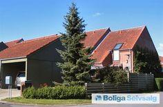Egevænget 1, 8382 Hinnerup - Boligen er et enderækkehus beliggende til et åbent område #andel #andelsbolig #hinnerup #selvsalg #boligsalg #boligdk