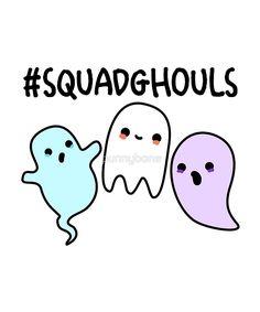 Squad Goals Halloween Pun by punnybone Halloween Puns, Halloween Drawings, Halloween Quotes, Halloween Cards, Halloween Witches, Halloween Stickers, Happy Halloween, Halloween Decorations, Cute Puns