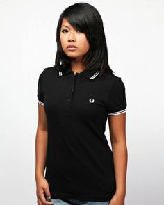 Fred Perry Women's Twin Tipped Polo