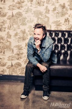Aaron Paul is stunning; however, I still of Jesse when I see him. I hate Jesse. Why did he have to play the most annoying character TV has ever seen?