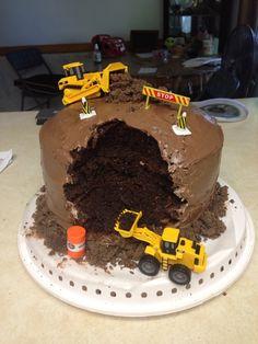 Mighty machines cake
