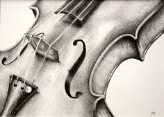 Supreme Portrait Drawing with Charcoal Ideas. Prodigious Portrait Drawing with Charcoal Ideas. Music Drawings, Easy Drawings, Drawing Sketches, Drawing Ideas, Sketching, Violin Drawing, Violin Art, Observational Drawing, Still Life Drawing