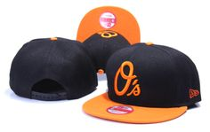 BALTIMORE ORIOLES NEW ERA SNAPBACK HATS - BLACK 349
