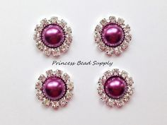 Hey, I found this really awesome Etsy listing at https://www.etsy.com/listing/265986786/20mm-dark-purple-pearl-flat-back-buttons