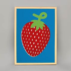 As we round off a pop-art themed week our cheerful Strawberry Print from lovely lad @imeus needed its time in the limelight! Now in the #Sale for a limited time only - grab this colourful beaut for 25 (normally 29.95)