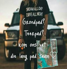#grondpad #teerpad #Liefde #Saam #Liefde #MoniquevanZyl Afrikaanse Quotes, Qoutes, Day, Mens Tops, Interior, Bed Room, Living Room, Quotations, Quotes