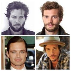The men of ONCE UPON A TIME  Pinocchio, The Huntsmen, The Mad Hatter and Bayfire