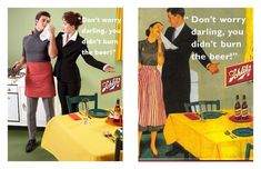 Sexist Vintage Ads Completely Reimagined Just by Reversing Gender Roles