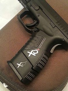 Springfield Armory XDm Custom Handgrip Logos Find our speedloader now!  http://www.amazon.com/shops/raeind