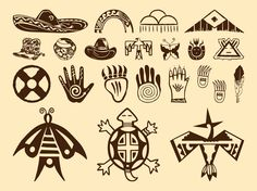 Native American Feather Clip Art | Native American Symbols