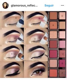 anastasia beverly hills modern renaissance tutorial by pauline Make-up is a process that delivers an Makeup Goals, Makeup Inspo, Makeup Inspiration, Makeup Tips, Makeup Hacks, Makeup Brush Guide, Eye Makeup Tutorials, Makeup Brushes, Eyeshadow Brushes
