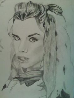Drawing of Rose Tyler that I did @HannahJackfield