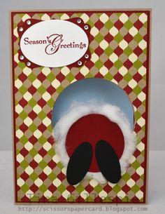 Scissors Paper Card: Search results for Santa