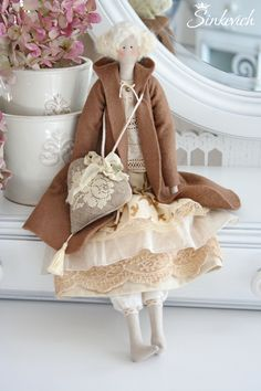 Купить Кукла в стиле Тильда Ханна - кукла, кукла ручной работы, кукла в подарок
