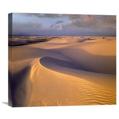 Sand Dunes, White Sands National Monument, New Mexico By Tim Fitzharris, 19 X 22-Inch Wall Art