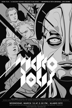 Metrópolis. Fritz Lang. Dos años después...   Amanece Metropolis
