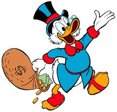 Images of Scrooge McDuck from Disney's Ducktales. Disney Pop Art, Disney Duck, Disney Mickey, Donald Duck Characters, Cartoon Characters, Les Looney Tunes, Dagobert Duck, Monopoly Man, Uncle Scrooge