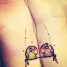 Matching tattoos  @Heather Creswell    would be cute with owls