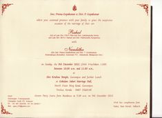 My wedding invitation wording kerala south indian wedding image search wedding invitation letter format kerala stopboris