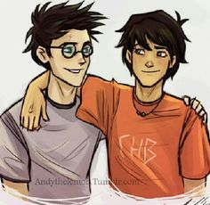 Harry potter and Percy Jackson: