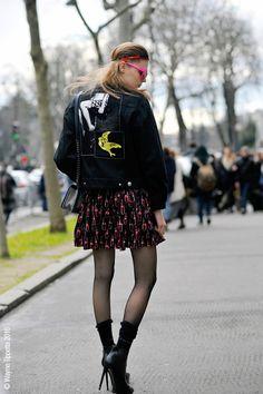 Paris – Alexandra Elizabeth, Place d'Iéna. March 10, 2016