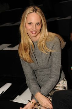 Lauren Santo Domingo Front Row at Prabal Gurung