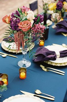 Photography: Chudleigh Weddings - chudleighweddings.com | Jewel Tone Wedding Theme { 17 ideas to Use Jewel Tones } http://www.itakeyou.co.uk/wedding/jewel-tone-wedding-theme #jeweltone #wedding #weddingtheme